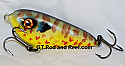"Smuttly Dog Baits Lures 4"" Drop Belly, Color; Pumpkinseed Sunfish"