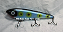 """Smuttly Dog Baits Lures 8"""" Drop Belly 8DB Musky Glide Bait  Color: Bluefish"""