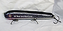 "Jack Cobb Countdown 8"" Round Nose Musky Bait Lure ""THE ORIGINAL ROUND NOSE LURE"" Dark Cisco"