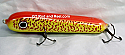 "Jack Cobb Countdown 6"" Rattling Round Nose Musky Bait Lure ""THE ORIGINAL ROUND NOSE LURE""  Color Bloody Mary"