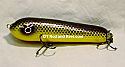 "Jack Cobb Countdown 6"" Rattling Round Nose Musky Bait Lure ""THE ORIGINAL ROUND NOSE LURE""  Color Purple Passion"