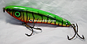 "Hughes River Musky 6"" Slim Shaker Bait Color; Blood Belly Tiger"