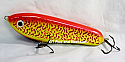 """Jack Cobb 6"""" Rattling Countdown Crazy Shad Glide Bait Bloody Mary"""