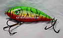"""Hughes River Musky Bait 5"""" Panfish Igniter Color; Blood Belly Tiger"""