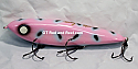 "Smuttly Dog Baits Lures 7"" Minnow, Color; Pink Panther"