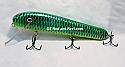 "Jack Cobb 8"" AV Crank Bait Emerald Green Sucker"