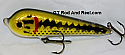 """Smuttly Dog Baits Lures 5"""" Stubby C, Color; Largemouth Bass"""