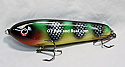 """Jack Cobb 6"""" Rattling Countdown Crazy Shad Glide Bait Nuked Perch"""