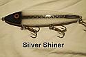 "Fat AZ 8"" Stinger Musky Glide Bait Silver Shiner"