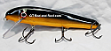 "Jack Cobb 7"" Slim Jim Crank Bait Color Halloween Bullhead"