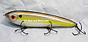 "Smuttly Dog Baits Lures 7"" Minnow, Color; Violet Drum"