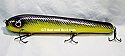 """Jack Cobb Countdown 10"""" Rattling Round Nose Musky Bait Lure """"THE ORIGINAL ROUND NOSE LURE"""" Color Purple Passion"""