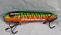 "Hughes River Musky 6"" Hughey Bait Color; Fire Tiger"
