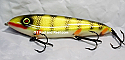 "Smuttly Dog Baits Lures 7"" Minnow, Color; Red Gill Perch"