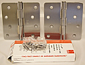 "Hager Hinges RC1741 4"" x 4"" Satin Chrome"