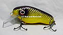 "Jack Cobb 4"" Rattling Musky Crankbait Purple Passion"