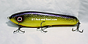 "Jack Cobb 8"" Rattling Crazy Shad Countdown Musky Bait Color; Purple Passion"
