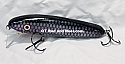 "Jack Cobb 6"" Rattling Shallow Diver Crank Twitch Bait Color Dark Cisco"