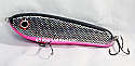 "Jack Cobb 6"" Rattling Countdown Crazy Shad Glide Bait Chrome Shiner"