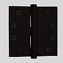"Baldwin Hinges 1046 Ball Bearing 4.5"" x 4.5"" Distressed Oil Rubbed Bronze"