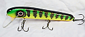 "Jack Cobb 8"" AV Crank Bait Yellow Perch"